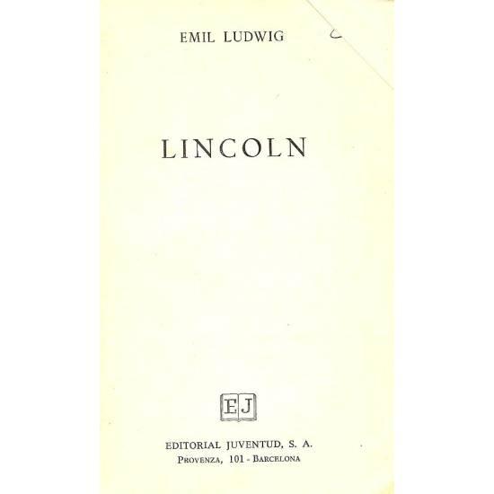 Lincoln Autor: Emil Ludwig