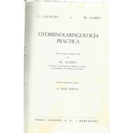 Otorrinolaringologia practica