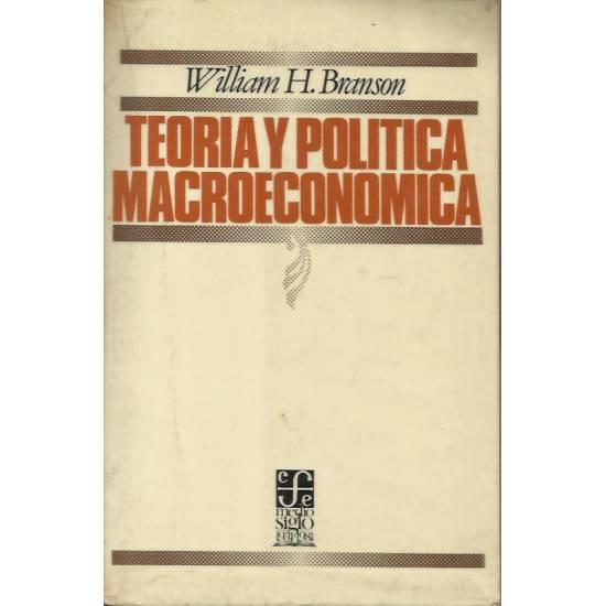 Teoria y politica macroeconomica