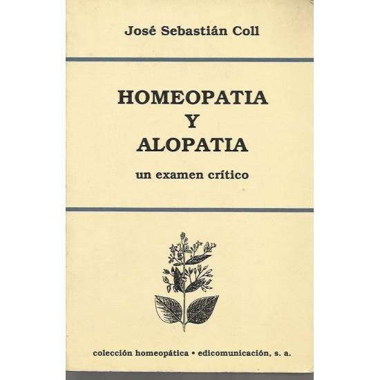 Homeopatia y alopatia