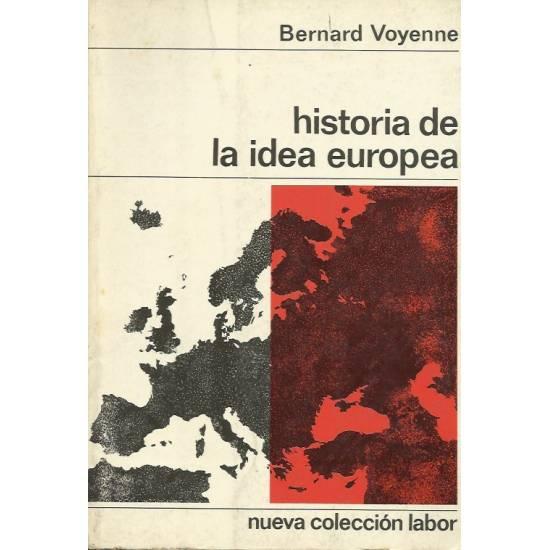 Historia de la idea europea