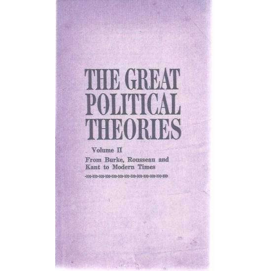 The great political theories Vol-2