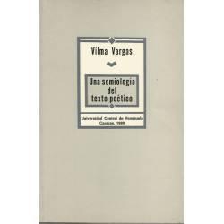 Una semiologia del texto poetico