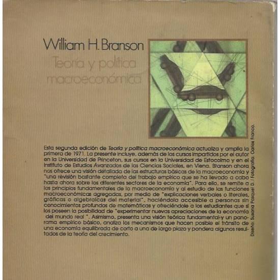 Teoria y politica macroeconomica Branson
