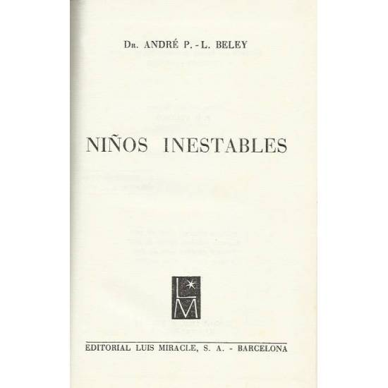 Ninos inestables