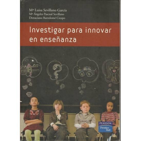 Investigar para innovar en ensenanza