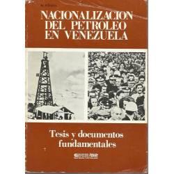 Nacionalizacion del petróleo en Venezuela