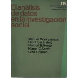 El analisis de datos en la investigacion social