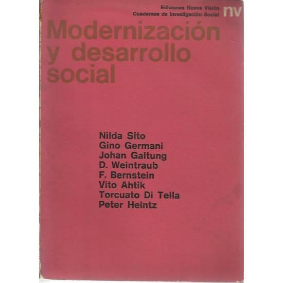 Modernizacion y desarrollo social