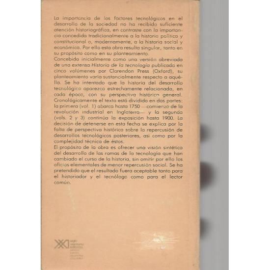 Historia de la tecnologia (vol. 1)