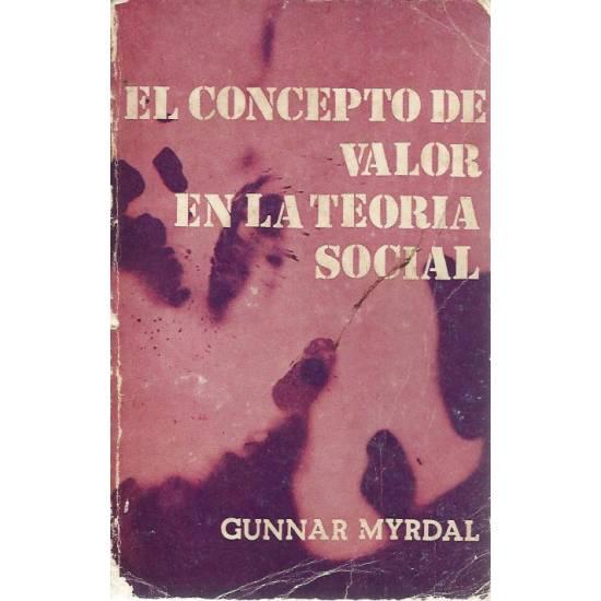 El concepto de valor en la teoria social