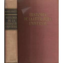Historia de la literatura universal