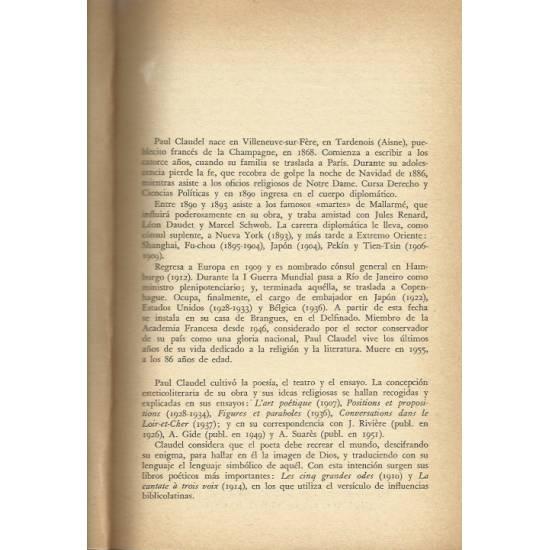 La anunciacion a Maria (teatro) Paul Claudel