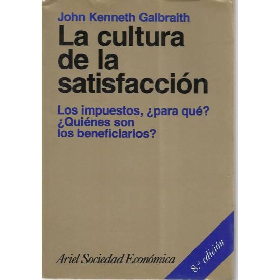 La cultura de la satisfaccion