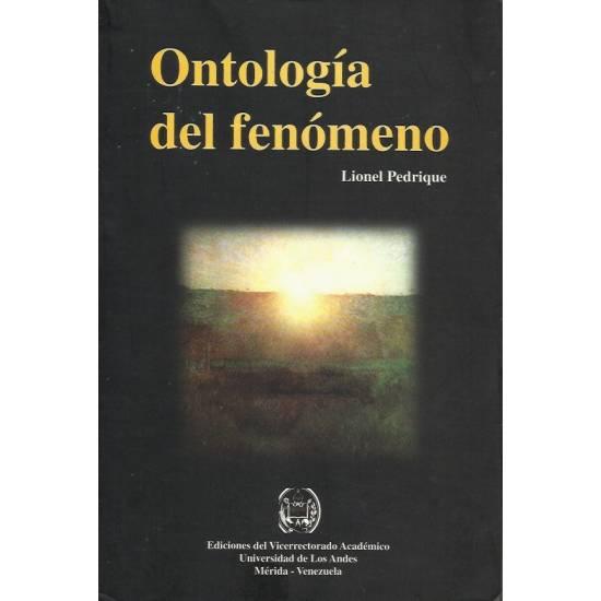 Ontologia del fenomeno