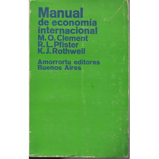 Manual de economia internacional