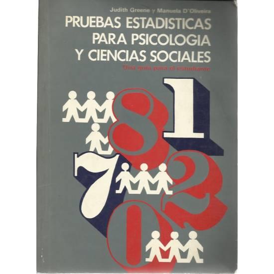 Pruebas estadisticas para psicologia y ciencias sociales