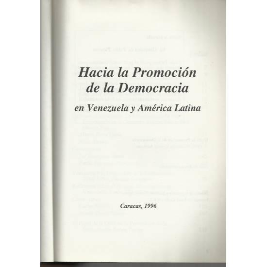 Hacia la promocion de la democracia
