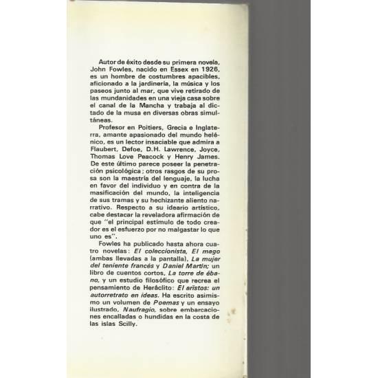 La mujer del teniente frances (novela)