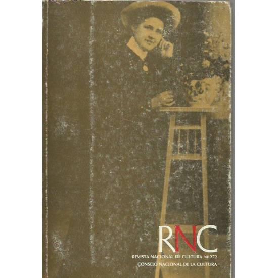 Teresa de la Parra Revista Nacional de Cultura RNC 272