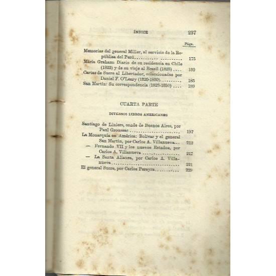 Lecturas americanas (Obra antigua 1920)