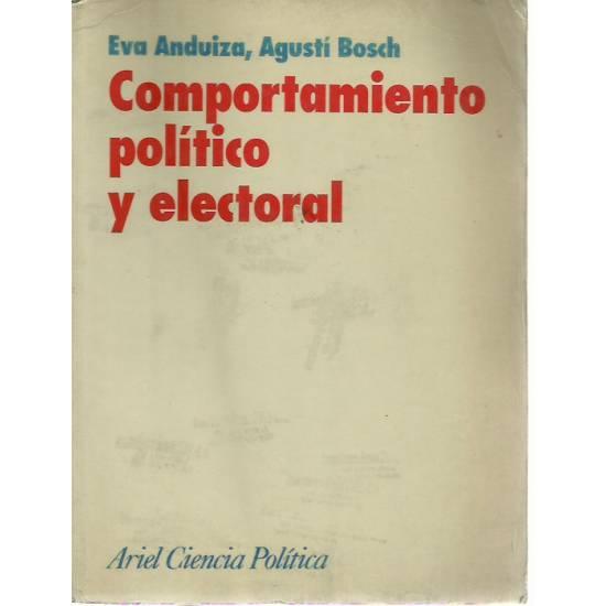 Comportamiento politico y electoral