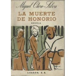 La muerte de Honorio Miguel Otero Silva 1a ed 1963