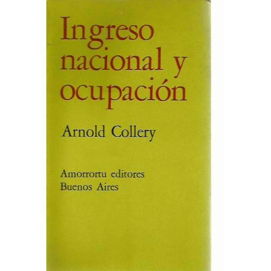 Ingreso nacional y ocupacion