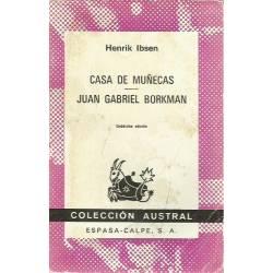 Casa de munecas Juan Gabriel Borkman