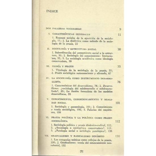 Sociologia de la praxis