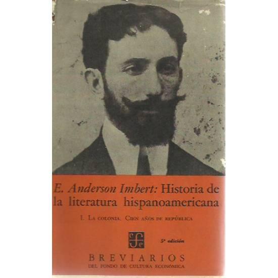 Historia de la literatura hispanoamericana (vol 1) Anderson