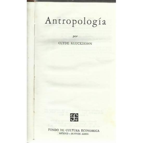 Antropologia Kluckhohn