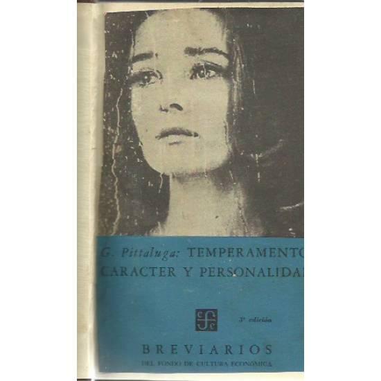 Temperamento, caracter y personalidad