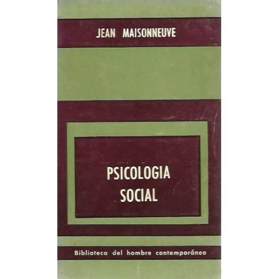 Psicologia social Maisonneuve