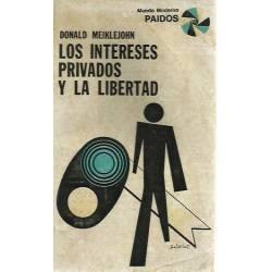 Los intereses privados y la libertad