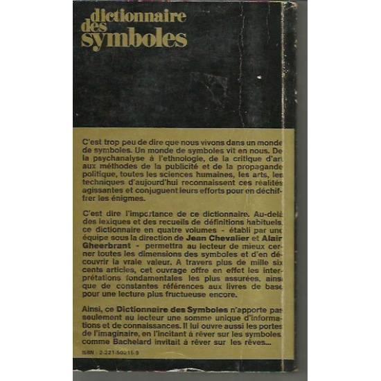 Dictionnaire des symboles (2 vol. Incompl.)