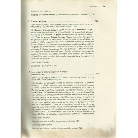 Organizaciones Conducta Estructura Proceso