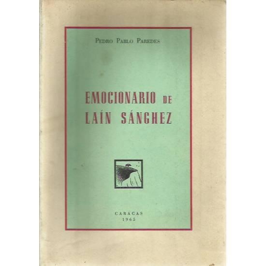 Emocionario de Lain Sanchez (Novela)