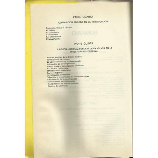Manual de investigación criminal