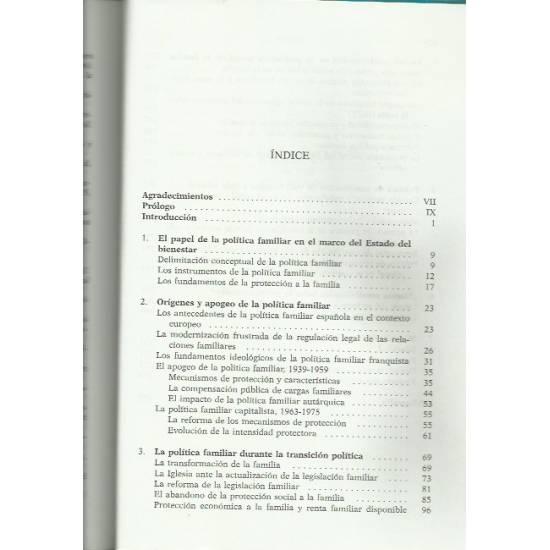 La política familiar en España