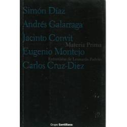 Materia prima Entrevistas de Leonardo Padrón