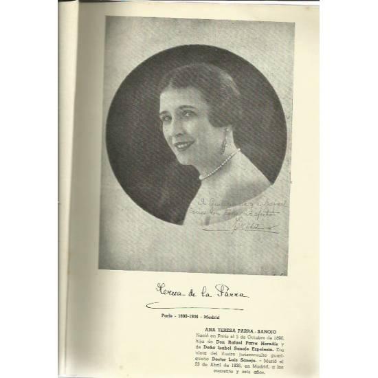 Epistolario íntimo Teresa de la Parra