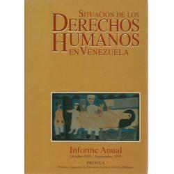 Situacion de los Derechos Humanos en Venezuela 1993-1994