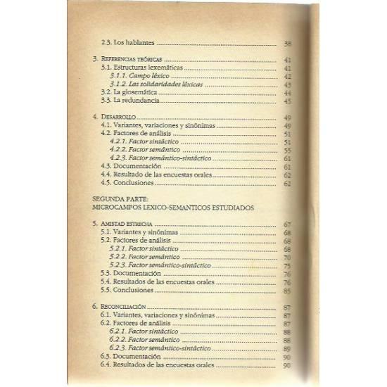 Estructuras binarias en el español de Venezuela