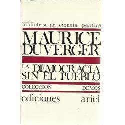 La democracia sin el pueblo