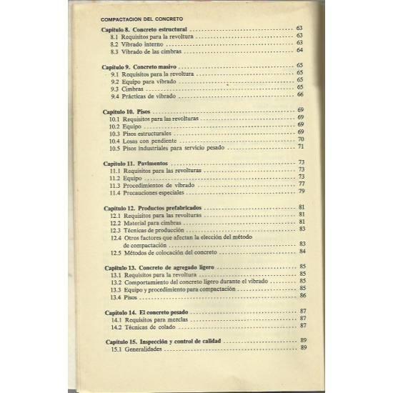 Práctica recomendable para la compactación del concreto