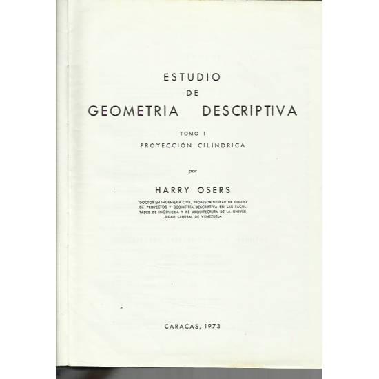 Estudio de geometría descriptiva I: Proyección cilíndrica