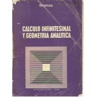 Cálculo infinitesimal y geometría analítica