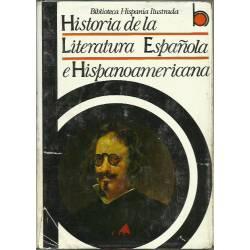 Historia de la literatura española e hispanoamérica