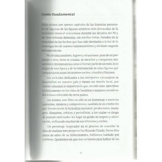Los tiempos cambian Farándula venezolana